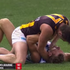 Australian Rules Football Player Tries to Choke-Out Opponent During Game [Video]