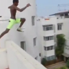 Dude Jumps Off 5-Story Building Into Pool Below and Lives [Video]