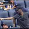 Chris Rock Catches Foul Ball at Yankees Game, Gives it to Young Fan [Video]