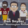 South Park Trolls Daniel Snyder in HILARIOUS Ad During Washington Game