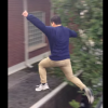 Drunk Guy Thought Jumping Off His Roof Onto His Neighbor's Was A Good Idea. FAIL! [Video]