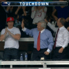 Marky Mark Left Robert Kraft Hanging After Rob Gronkowski's Touchdown [Video]