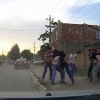 Traffic Level Russia: Tiny Fender Bender Leads To All Out Brawl in the Streets [Video]