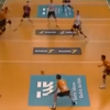 You Have To See It To Believe It: A Triple Volleyball Head Shot [Video]
