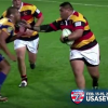Giant Rugby Player Tosses Aside Would-Be Tackler With an Incredible Hulk Stiff-Arm [Video]