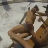 Worst Friends Ever Throw Passed Out Drunk Guy Off Second Story Balcony into Snow [Video]