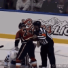 AHL Player Trevor Gillies Slams Opponent's Face on Ice After Fight [Video]
