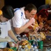 Joey Chestnut Ate Almost 10 Pounds of Turkey in 10 Minutes [Video]