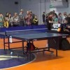 Little Brat Loses Table Tennis Match, Shoves Ref Out Of Chair [Video]