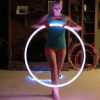 You'll Fall In Love With This Impossibly Cute Hula Hooping Chick [Video]