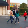 This Parking Lot Fight Between These Packers And Seahawks Fans Kicks Off With A Vicious Sucker Punch [Video]