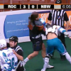 Black Wolves Enforcer Uppercuts The Living Shit Out Of Rochester Forward In Epic Lacrosse Fight [Video]