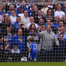 Wide World of Sports: Chelsea Player's Son Provides the Most Adorable Goal Ever [Video]