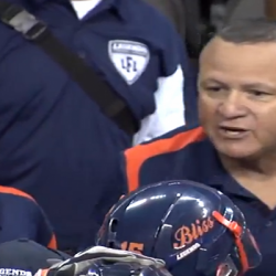 "Lingerie Football Coach Keith Hac Screams, ""I Will *Bleep* You in the Face!"" [Video]"
