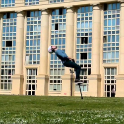 Wide World of Sports: Man Destroys World Record for Consecutive Backflips on a Pogo Stick [Video]