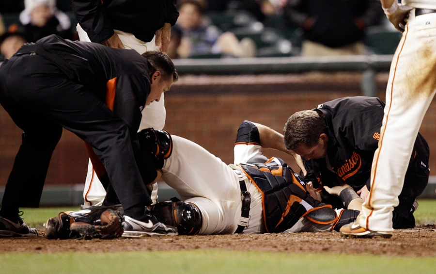 "Buster Posey ""feeling good"" in his return to the Giants..."