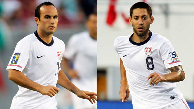 Landon Donovan & Clint Dempsey are on the U.S. national team roster.....2014 World Cup