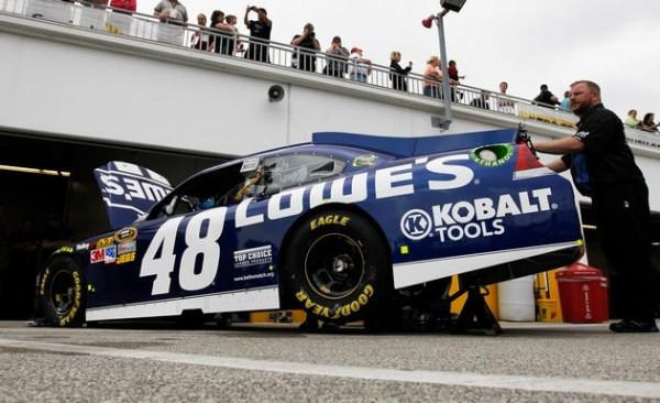 "NASCAR Confiscated Jimmie Johnson's Car Because of ""Illegal Modifications""..."