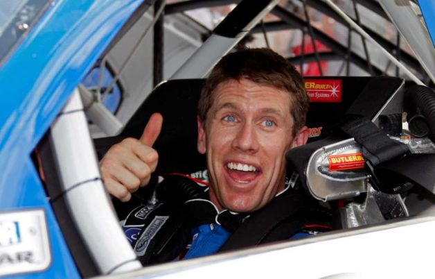 Carl Edwards wins Daytona 500 pole....