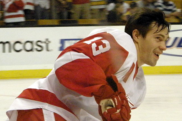 Pavel Datsyuk out two weeks for the Wings..