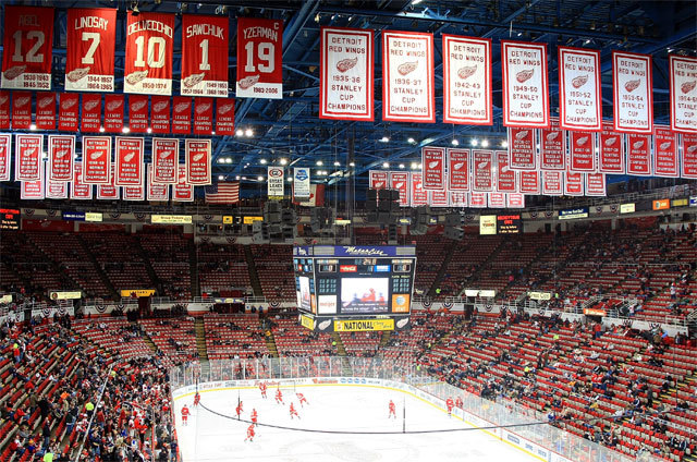 The Detroit Red Wings Win Their 23rd Consecutive Home Game....