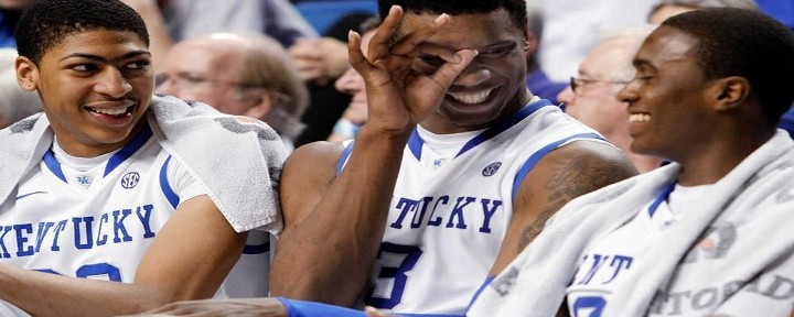 Kentucky has Little Trouble with Baylor 82-70, on Way to Second Straight Final Four Appearance..