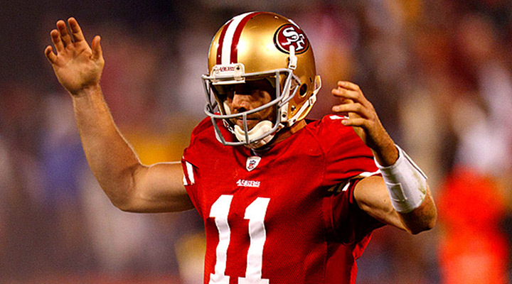 San Francisco 49ers Settle For QB Alex Smith 3-Year Deal... After Loosing the Manning Sweepstakes