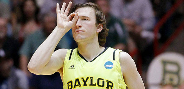 Brady Heslip's Nine Three-Pointers Helped Push Baylor Past Colorado, 80-63 to Advance to the Sweet 16...