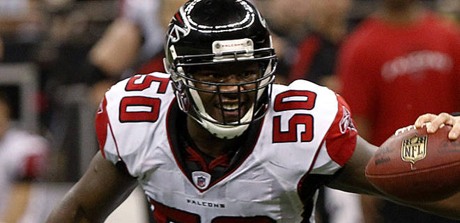 Saints Sign Long-Time Falcons LB Curtis Lofton to a Five-Year Contract...