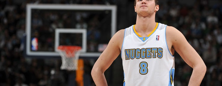 Denver Nuggets Forward Danilo Gallinari Breaks Thumb in Last Nights Loss to the Dallas Mavericks...
