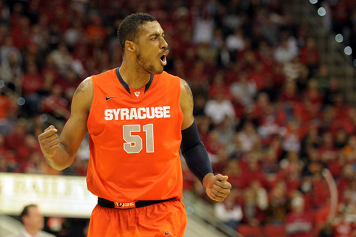 Syracuse's Fab Melo Will Not Participate in the NCAA Tournament Due to Eligibility Issues