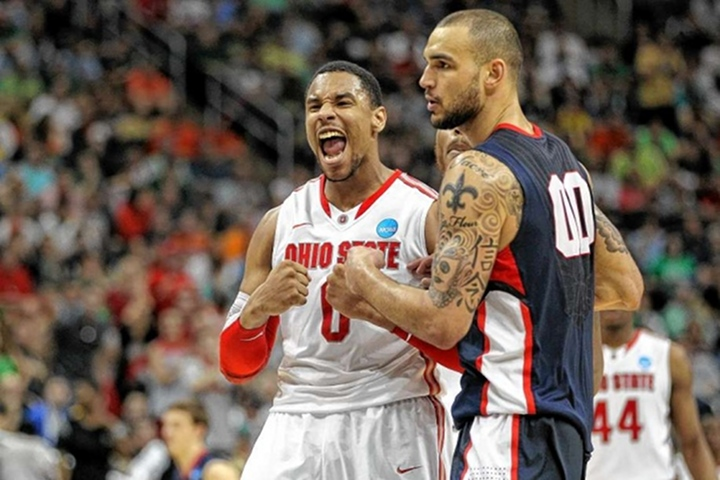 #2 Ohio State beats #7 Gonzaga 73-66, Star Sophomore F Jared Sullingers Scores 18 Points...