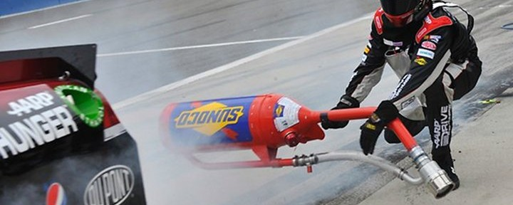 Rough Ride for Jeff Gordon's Fuel Man at Fontana on Sunday!