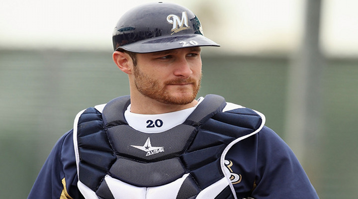 Milwaukee Brewers Sign Up and Coming Catcher Jonathan Lucroy to a Five-Year Deal...