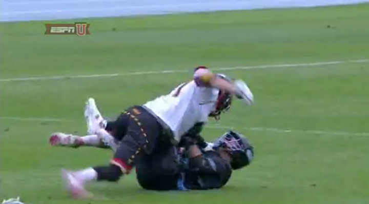VIDEO: North Carolina vs Maryland Lacrosse Game Turns into Full on Brawl....