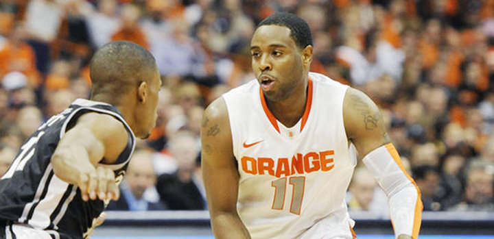 Syracuse Cruises Past Kansas State 75-59, As Scoop Jardine Leads Effort For The Orange Men...