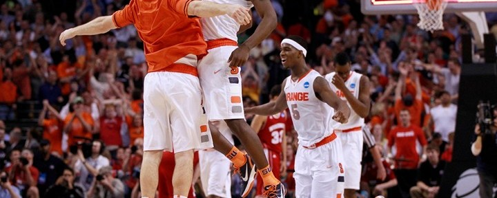 Syracuse Survives Wisconsin's 3-Point Barrage, 64-63, Advances to the Elite 8...