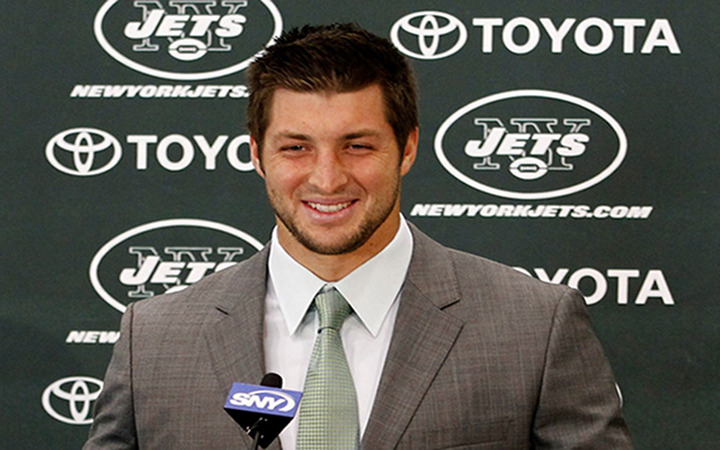Tim Tebow Press Conference Video: Tebow Answers the Big Question - Why the Jets Over the Jaguars?