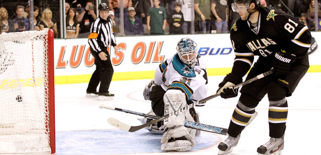 Dallas Stars beat rival Sharks in OT Shout-out in Pacific Division Showdown..