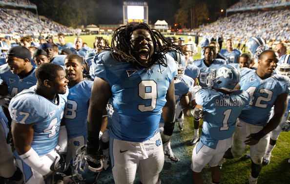 UNC Receives 2012 Bowl Ban, Loses 15 Scholarships For NCAA Violations....