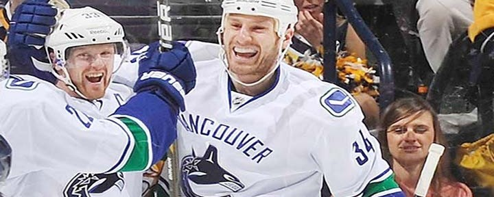 Vancouver Canucks RW Bryon Bitz Suspended Two Games for Dirty Hit on Kings Kyle Clifford..