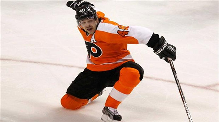 Danny Briere's OT Goal Lifts Flyers Past Devils 4-3 in Game 1 - Philadelphia Leads Series 1-0