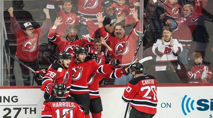 New Jersey Devils Win In Overtime on Zajac's Goal to Force Game 7 in Florida....