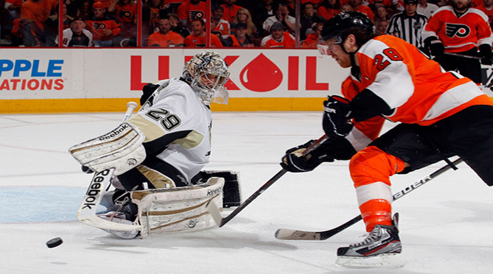 Flyers Blow Out Penguins 5-1 in Philadelphia to Advance to the Next Round of the Stanley Cup Playoffs!