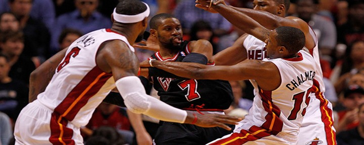 Slammin': Things Get Heated in Miami's 83-72 Win Over the Bulls - Video Highlights