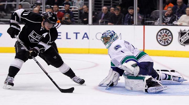 Wild Wild Western Conference - Kopitar Dropped the Gloves in Tonight's Huge Game 3 Matchup, LA Wins 1-0 Over Canucks. - Kings Lead Series 3-0