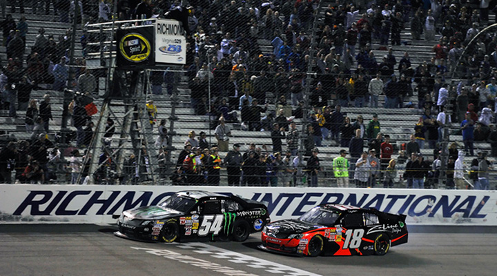 Kyle Busch Wins At Richmond For The Fourth Consecutive Year.....