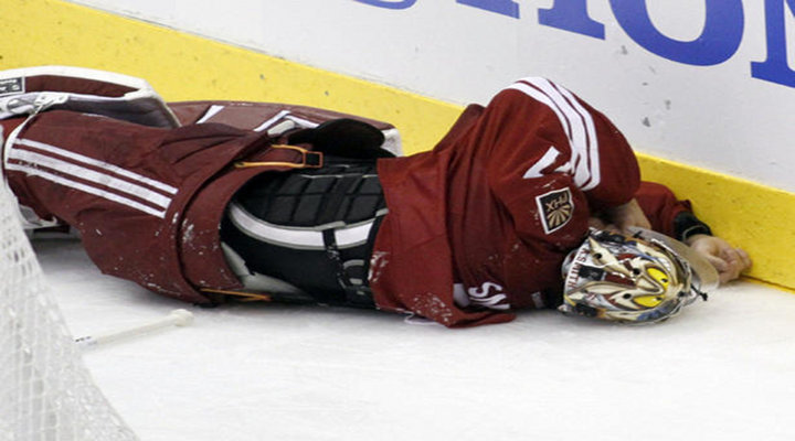 Chicago Blackhawks Andrew Shaw Has Been Suspended 3 Games for Charging Phoenix Coyotes Goalie Mike Smith...
