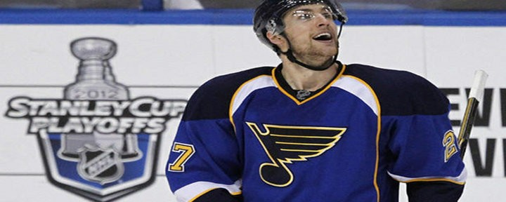 Blues Score Two Goals 45 Seconds Apart to Eliminate Sharks - St. Louis Wins Series 4-1