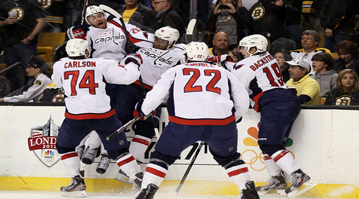 Capitals Beat Defending Champion Bruins 2-1 in OT to Reach 2nd Round of the Stanley Cup Playoffs...